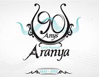 Disseny logo 90 anys l'Aranya (2013)