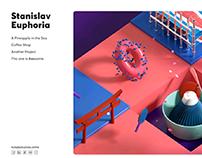 Stanislav Horizontal Portfolio Concept