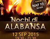 Nochi di Alabansa Concert Design
