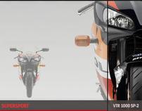 Honda Motorcycles local website 2007