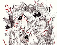 【RASHOMON】collection of short story's illustration
