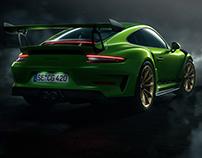 Porsche GT3 RS II // CGI