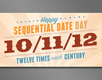 10/11/12  |  Sequential Date Day
