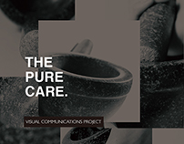 'The Pure Care' Brand strategy and identity design