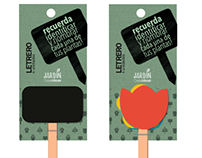 Packaging para línea de jardín - Casaideas.