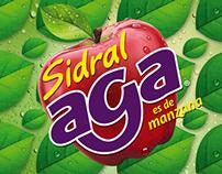 Etiqueta Sidral Aga