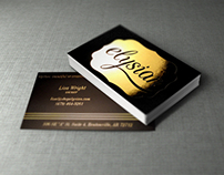 Elysian Boutique Business Cards