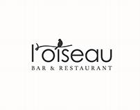 l'oiseau Restaurant Branding