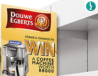 Douwe Egberts SA Coffee Machine Comeptition