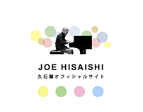 Web Design : Joe Hisaishi