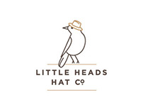 Logo // Little Heads Hat Co.