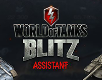 World of Tanks Blitz Assistant. Mobile app UX/UI