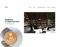 Coffee house Simple Landing Page