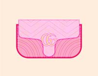 Designer Handbag Illustrations #3