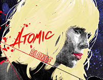 Atomic Blonde Tribute Art