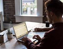 Job portal website: Landing Page