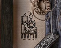 Branding for Aratta Distillery