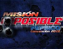 Línea gráfica para evento Misión Posible - PepsiCo