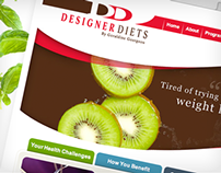 Designer Diets website