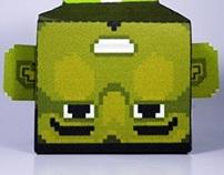 PaperToy & PixelArt