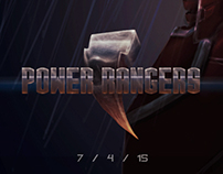 Power Rangers Poster Concept