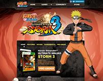 Naruto Game SITE / Namco