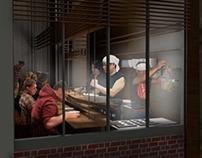 95 Eddy Street | Ramen Kitchen Design