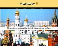 Moscow, Russia - Travel Microsite