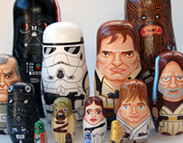 Star Wars Nesting Dolls