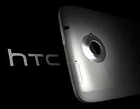 HTC One X (Model + Render)