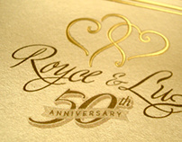 Mom & Dad's 50th Wedding Annniversary