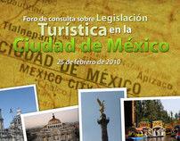 Foro de legislación turísticas de la Ciudad de México
