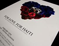 For Love, For Haiti Poster