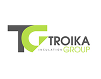 Creating of logo for Troika Group. Moscow
