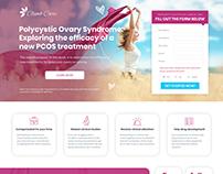 Climb Care Landing Page Design