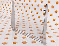 Vector Railing 3D Model
