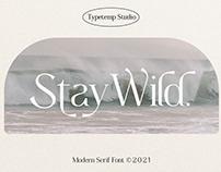 Stay Wild Font - Modern Serif