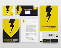 Business club Inspiration Boost brand identity