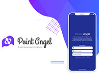 Point Angel | Single page app showcase