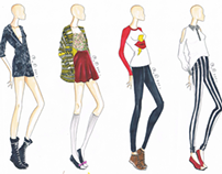 Fashion Illustration: Casual Chic