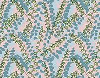 wavy leaf pattern