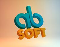 AB-soft concept logo