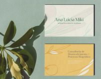 Ana Lúcia Miki - Visual Identity