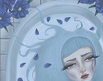 Celestial Selkie | Digital illustration