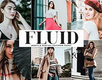 Free Fluid Mobile & Desktop Lightroom Preset