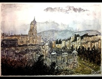 Malaga watercolour