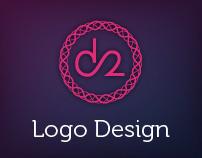 d2 - logo design