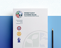Rotaract Club of DG Vaishnav College | Identity Design