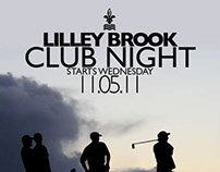 Lilley Brook Club Night Promotion 2011