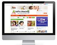 SaposyPrincesas.com re-design